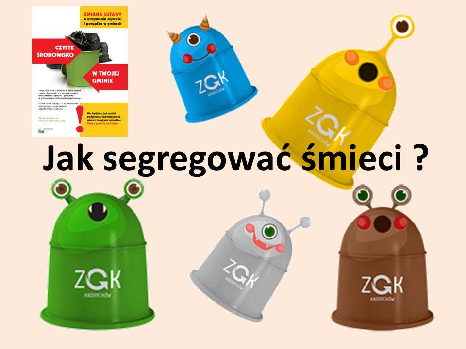Od 1 lipca 2013 r.wchodzą nowe przepisy dotyczące segregacji śmieci.