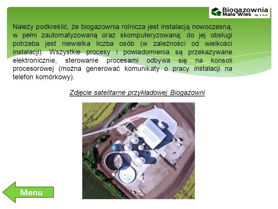 Należy podkreślić, że biogazownia rolnicza jest instalacją nowoczesną, w pełni zautomatyzowaną oraz skomputeryzowaną; do jej obsługi potrzeba jest niewielka liczba osób (w zależności od wielkości instalacji).