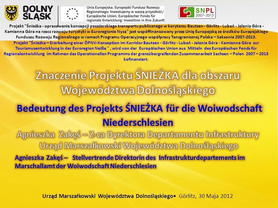 1.Polityka województwa dotycząca transportu: Die Verkehrspolitik der Woiwodschaft betrifft: