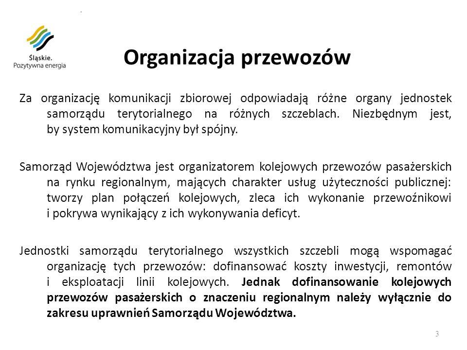 Inwestycje Taborowe samorządu województwa śląskiego na rzecz rozwoju kolei 4 Nowoczesne Elektryczne Z espoły T rakcyjne typu Flirt zakupione w 2008 r.