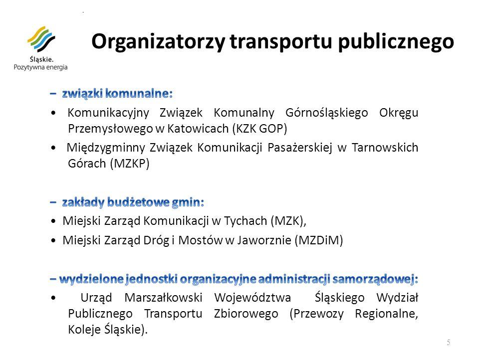 5 Organizatorzy transportu publicznego