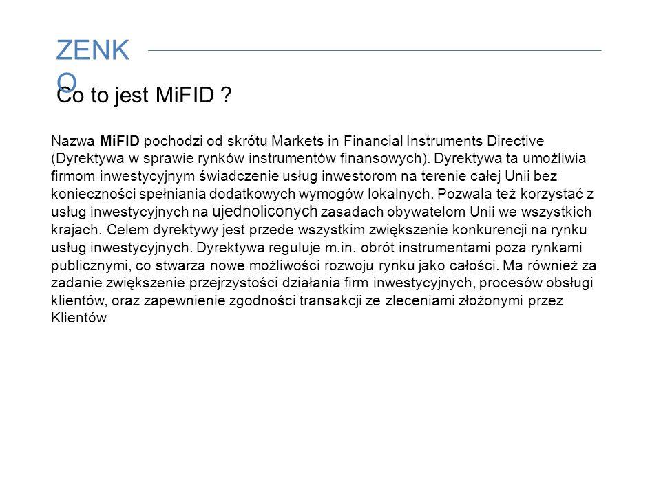Co to jest MiFID .