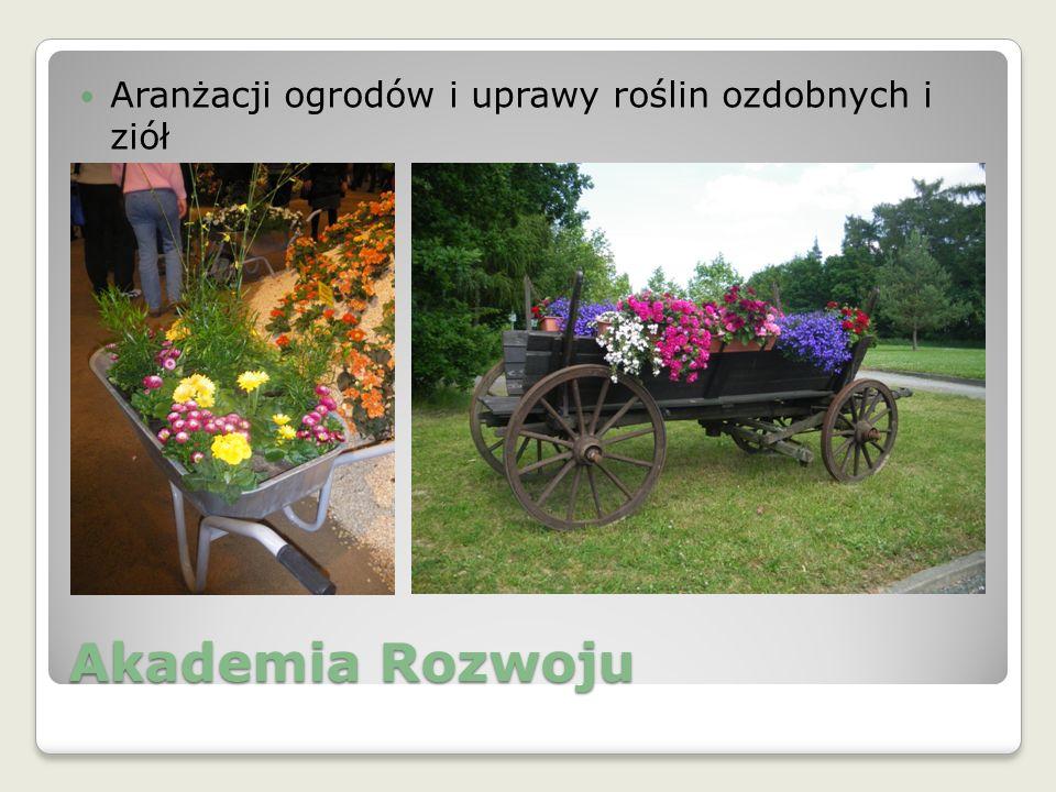 Akademia Rozwoju Aranżacji ogrodów i uprawy roślin ozdobnych i ziół