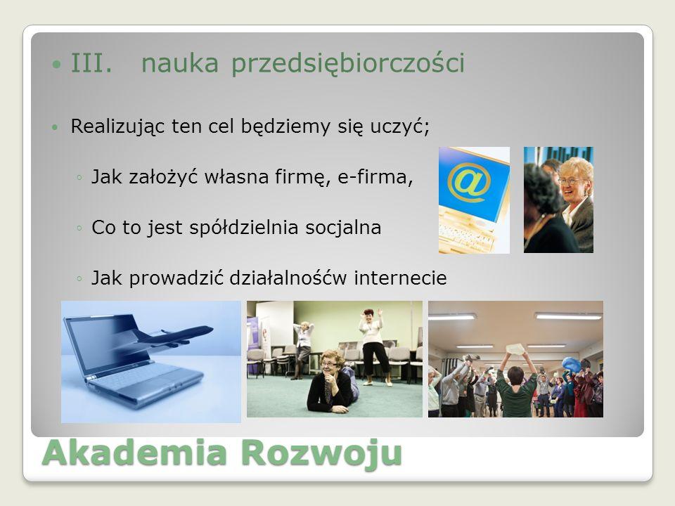 Akademia Rozwoju III.