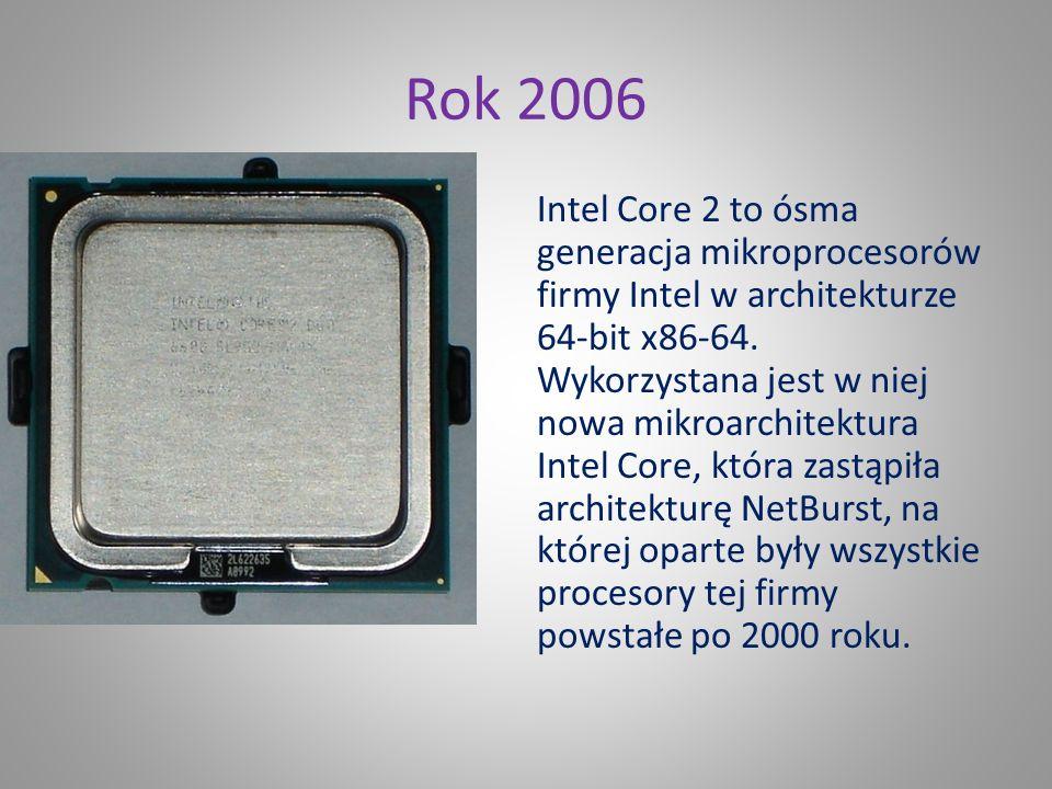 Rok 2000 Pentium 4 Willamette został wypuszczony na rynek 20 listopada 2000 roku. Początkowo taktowany był zegarem 1400 MHz potem, firma Intel zmienił