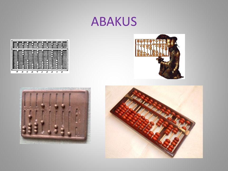 3000 lat p.n.e. W środkowej Azji wynaleziono liczydło (ang. abacus) – używało kombinowanego systemu dwójkowo-piątkowego. Ułatwiało liczenie, używane w