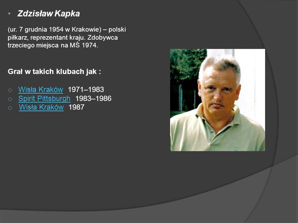 Zdzisław Kapka (ur.7 grudnia 1954 w Krakowie) – polski piłkarz, reprezentant kraju.