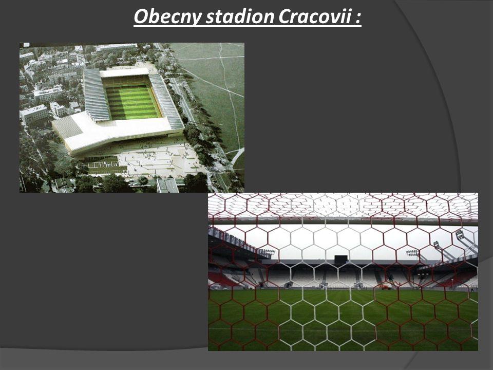 Obecny stadion Cracovii :