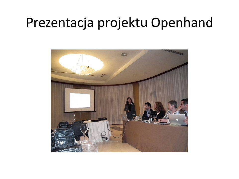 Prezentacja projektu Openhand