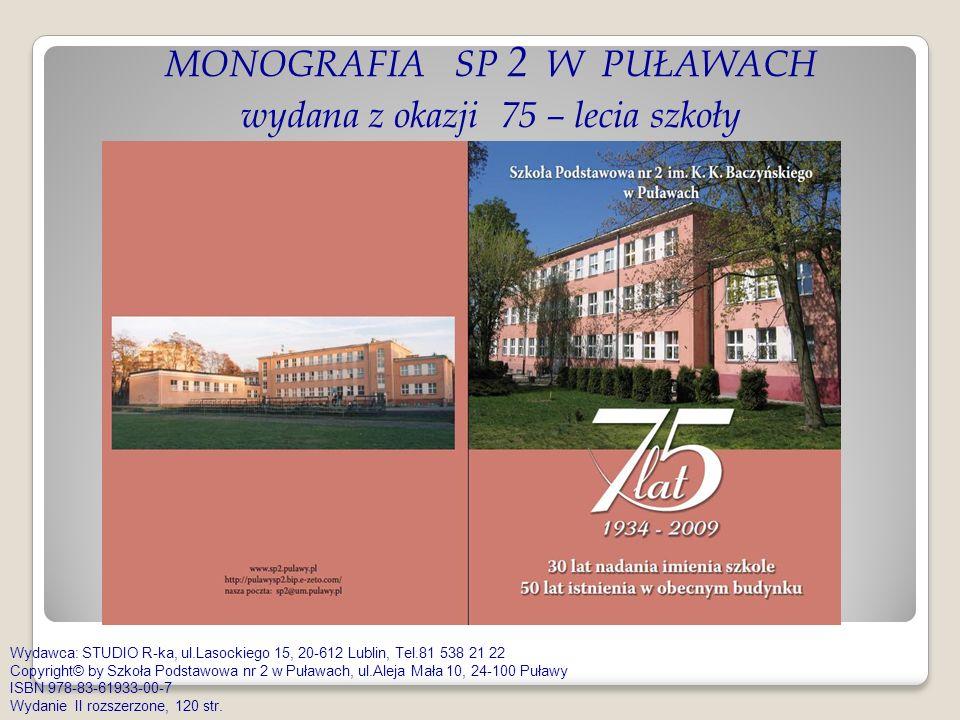 FILM nakręcony z okazji 75 – lecia szkoły SP 2 w Puławach film – 42 min.