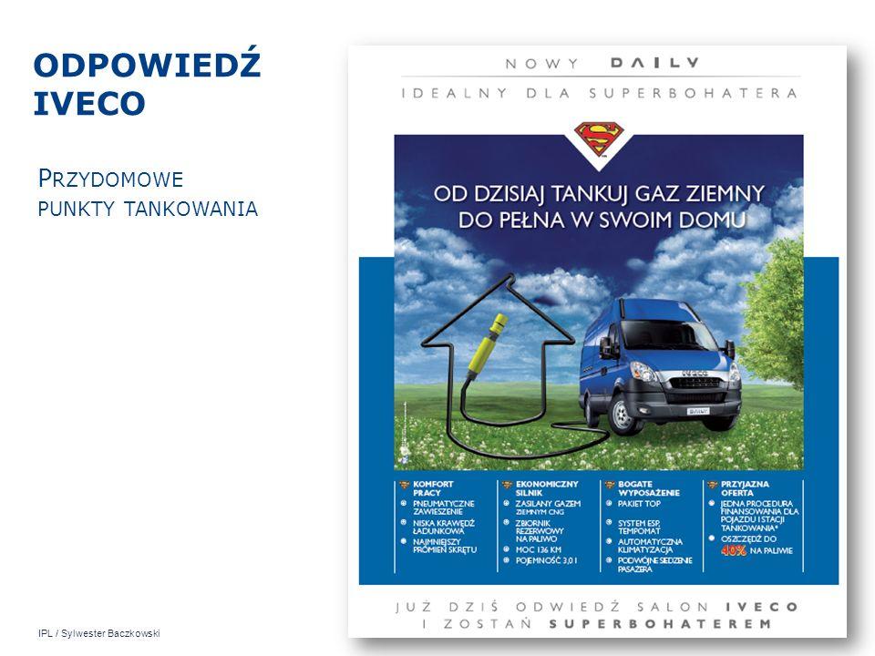 IPL / Sylwester Baczkowski ODPOWIEDŹ IVECO P RZYDOMOWE PUNKTY TANKOWANIA