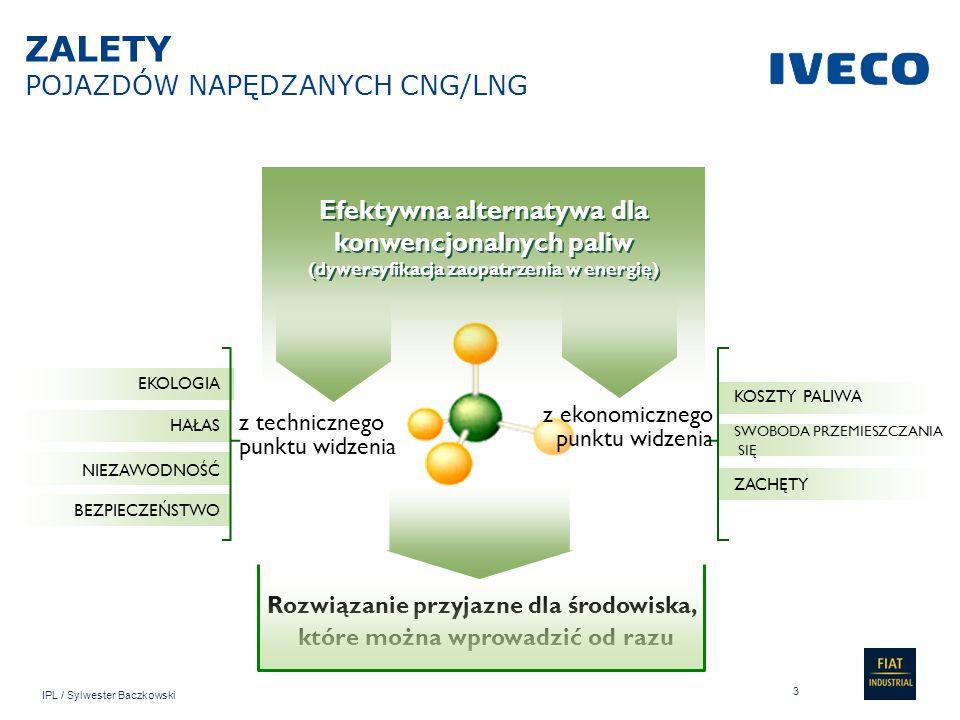 IPL / Sylwester Baczkowski Efektywna alternatywa dla konwencjonalnych paliw (dywersyfikacja zaopatrzenia w energię) Rozwiązanie przyjazne dla środowis