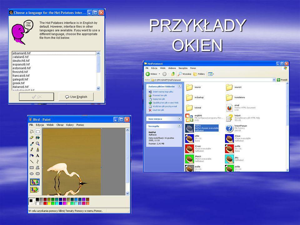 Ćwiczenie 2 Otwórz okno Moje dokumenty.Stwórz w nim foldery o nazwie Katalog1 oraz Katalog2.