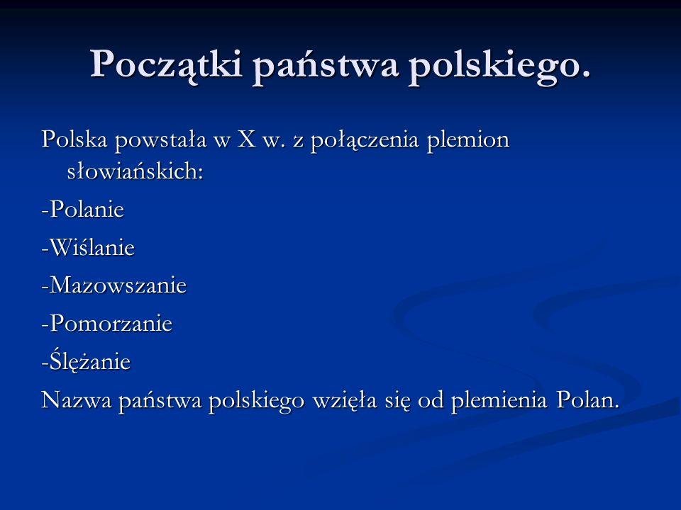 Pochodzenie Mieszko I pochodził z rodu Piastów.Władał Polanami.