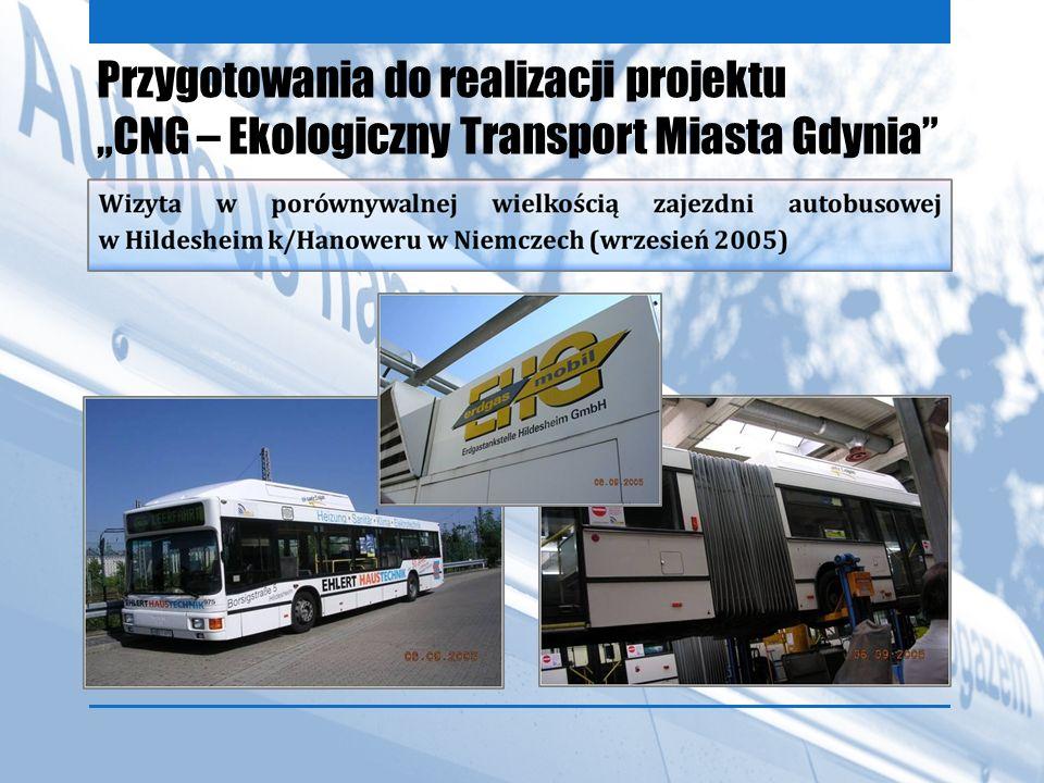 Przygotowania do realizacji projektu CNG – Ekologiczny Transport Miasta Gdynia