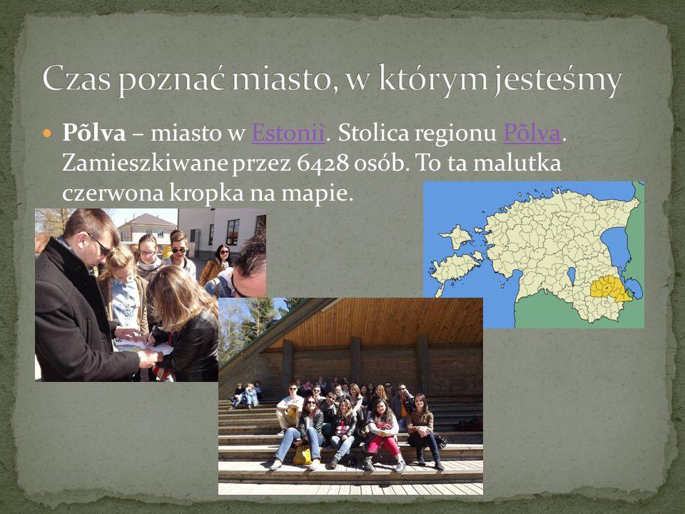 Põlva – miasto w Estonii. Stolica regionu Põlva. Zamieszkiwane przez 6428 osób.