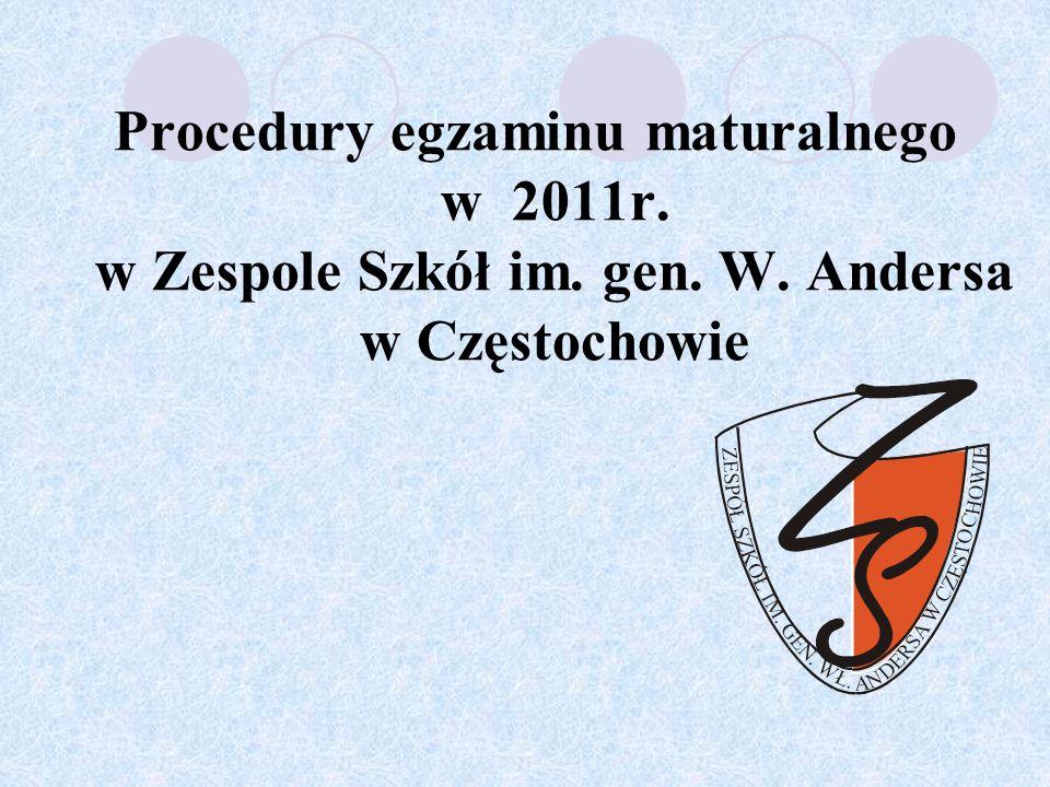 Zdający jest zobowiązany czytelnie i w miejscach do tego przeznaczonych zakodować swój arkusz egzaminacyjny.