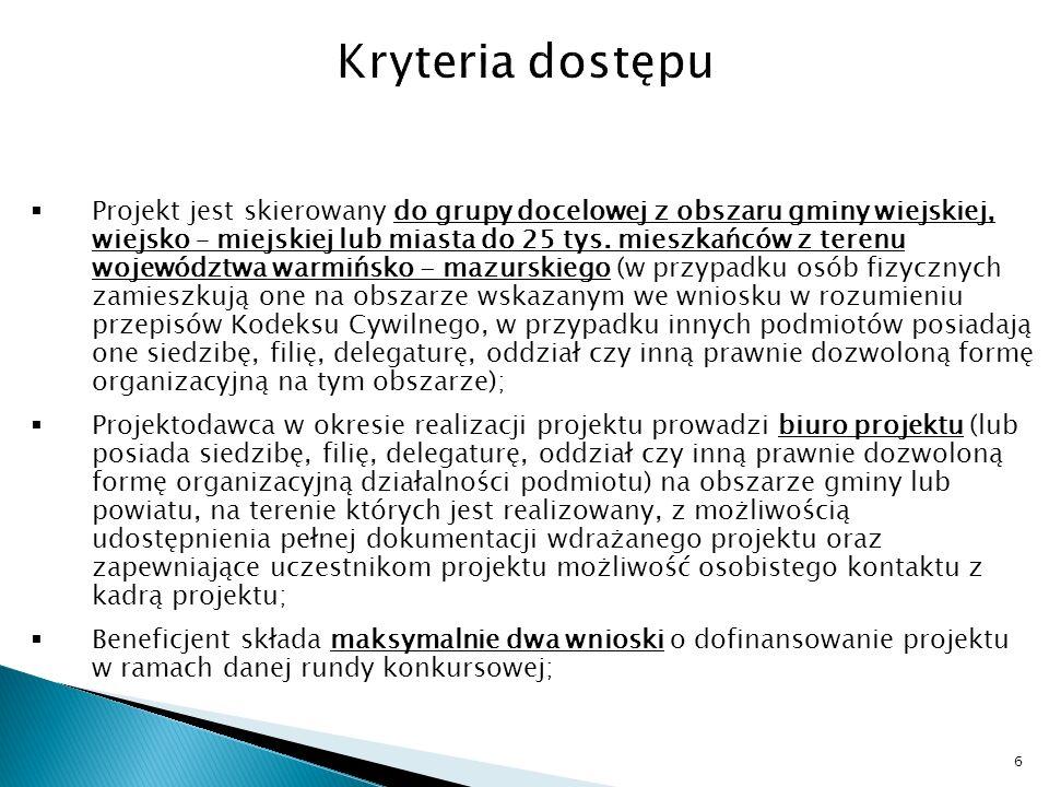 FUNDUSZ DLA ORGANIZACJI POZARZĄDOWYCH http://www.swissgrant.pl/