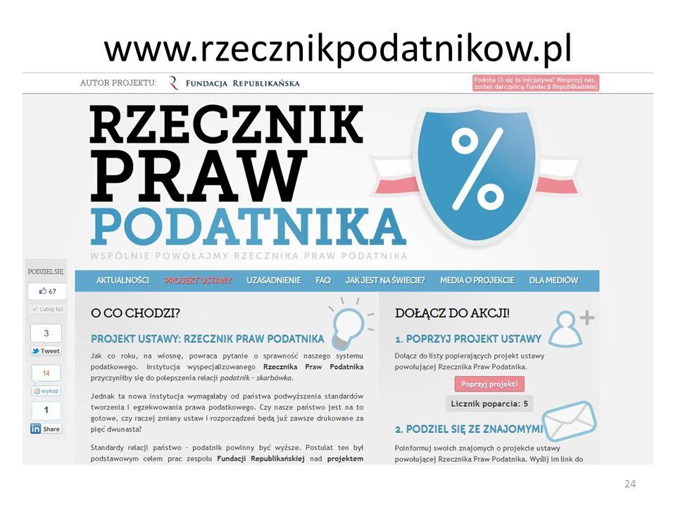 www.rzecznikpodatnikow.pl 24