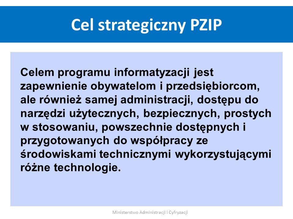 Celem programu informatyzacji jest zapewnienie obywatelom i przedsiębiorcom, ale również samej administracji, dostępu do narzędzi użytecznych, bezpiec
