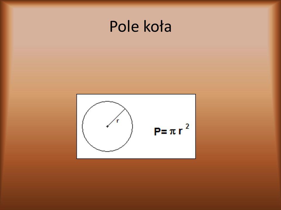 Przykłady d=4cm l=d=4 lub 3,14*4=12,56