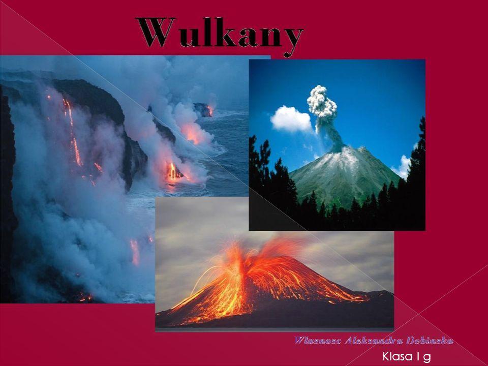 1.Powstawanie wulkanów 2. Budowa wulkanów 3. Największe wulkany 4.