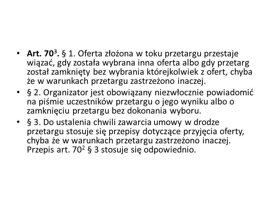 Art.70 3. § 1.