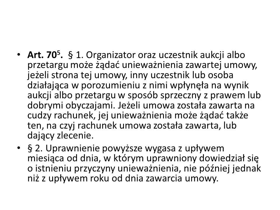 Art.70 5. § 1.