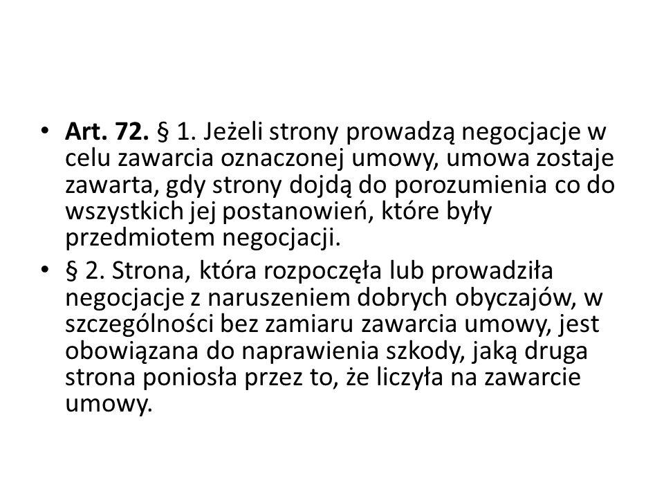 Art.72. § 1.