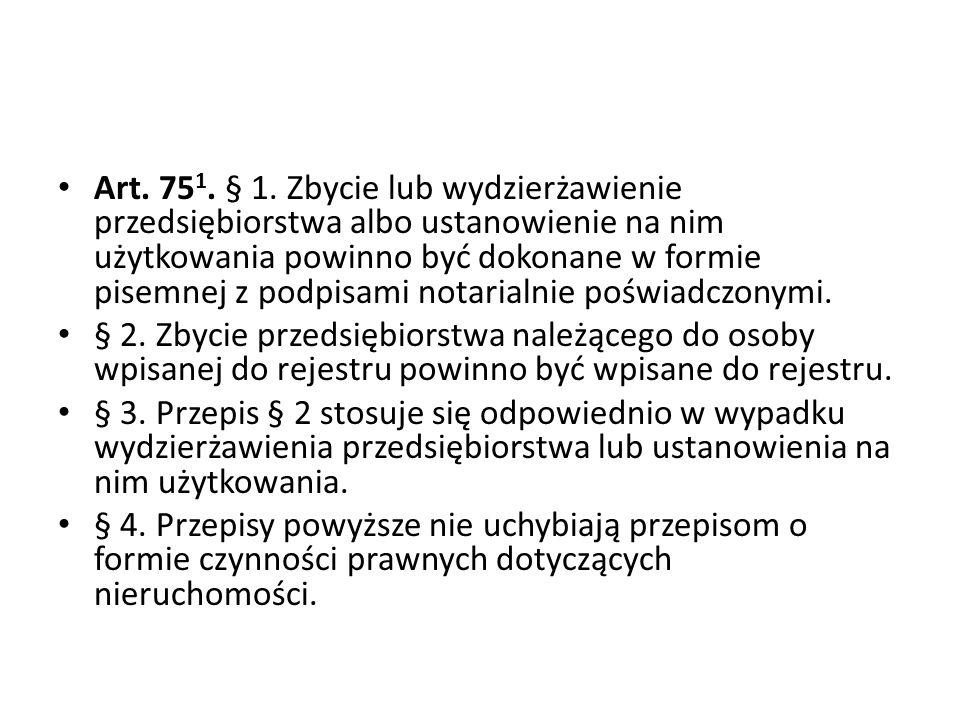 Art.75 1. § 1.
