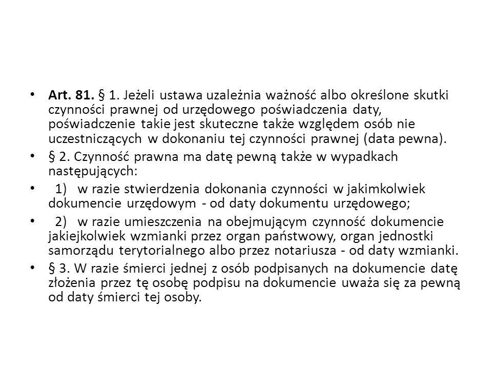 Art.81. § 1.