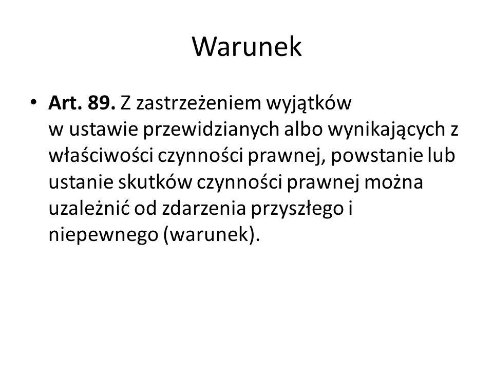 Warunek Art.89.