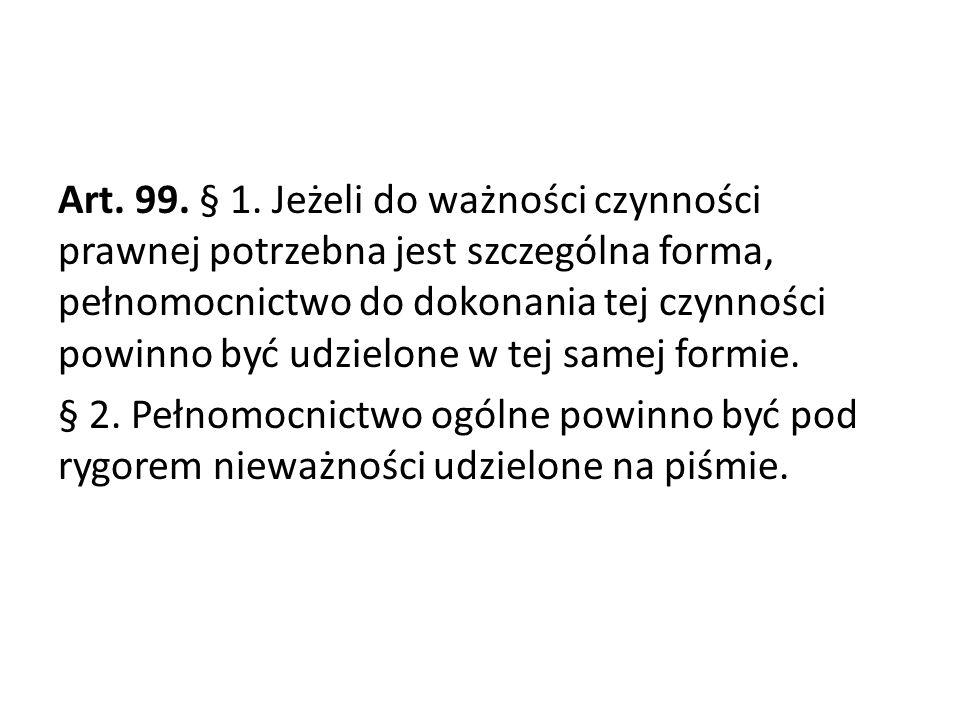 Art.99. § 1.