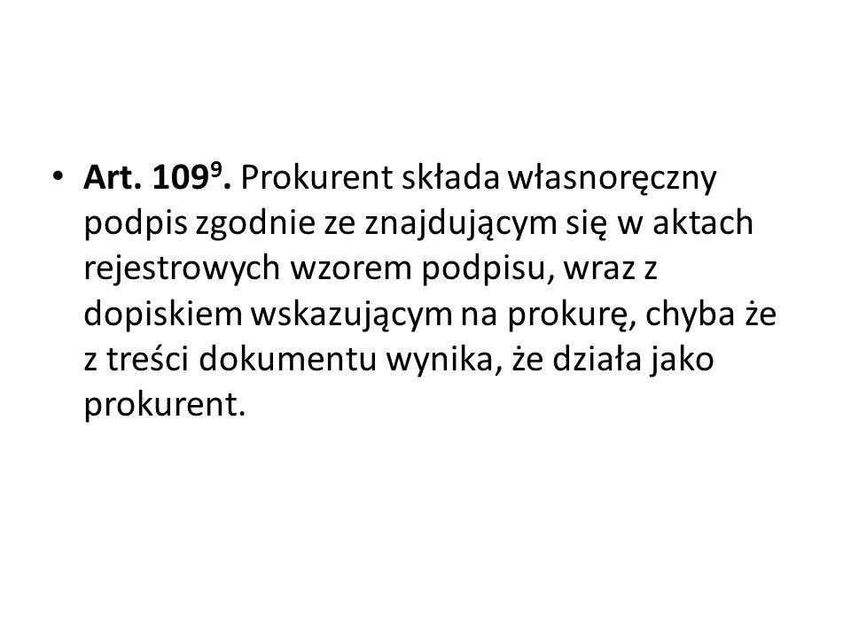 Art.109 9.