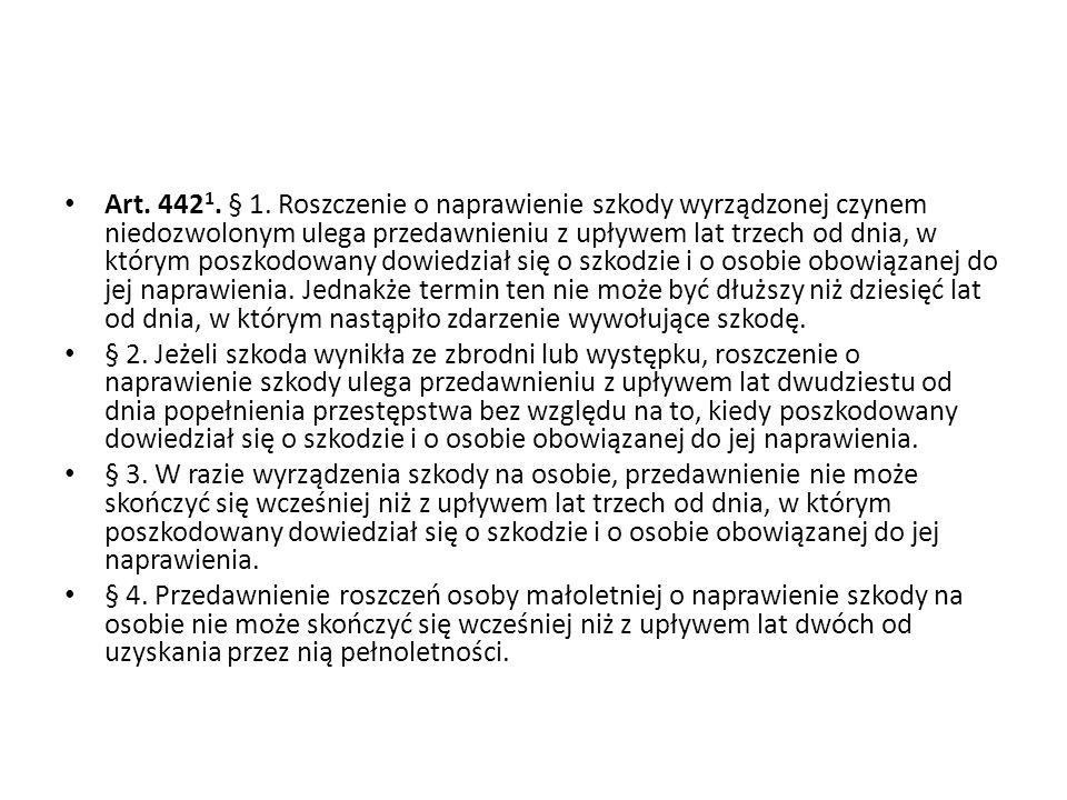 Art.442 1. § 1.