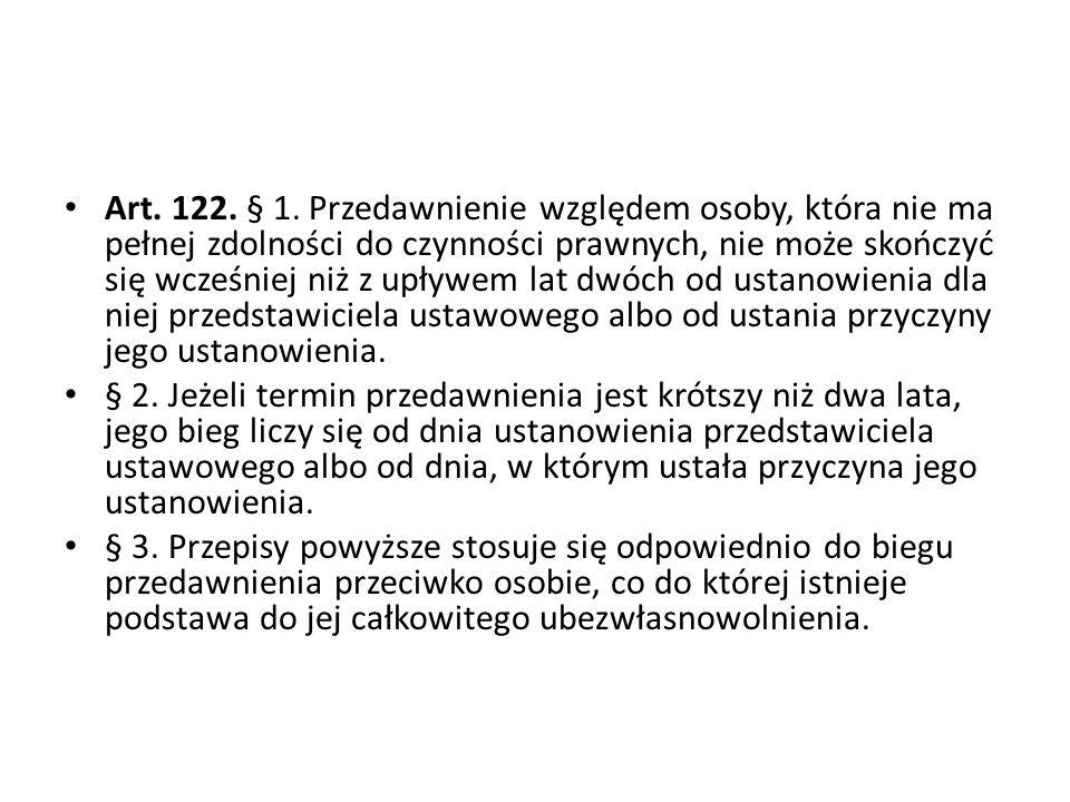Art.122. § 1.