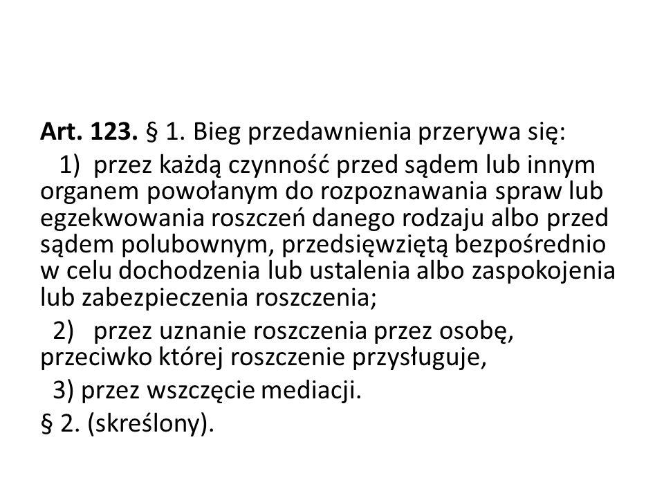 Art.123. § 1.
