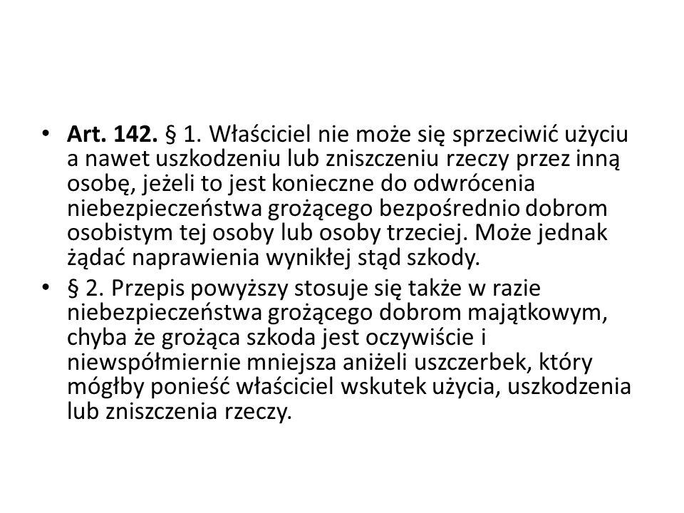 Art.142. § 1.