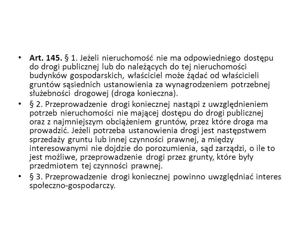 Art.145. § 1.