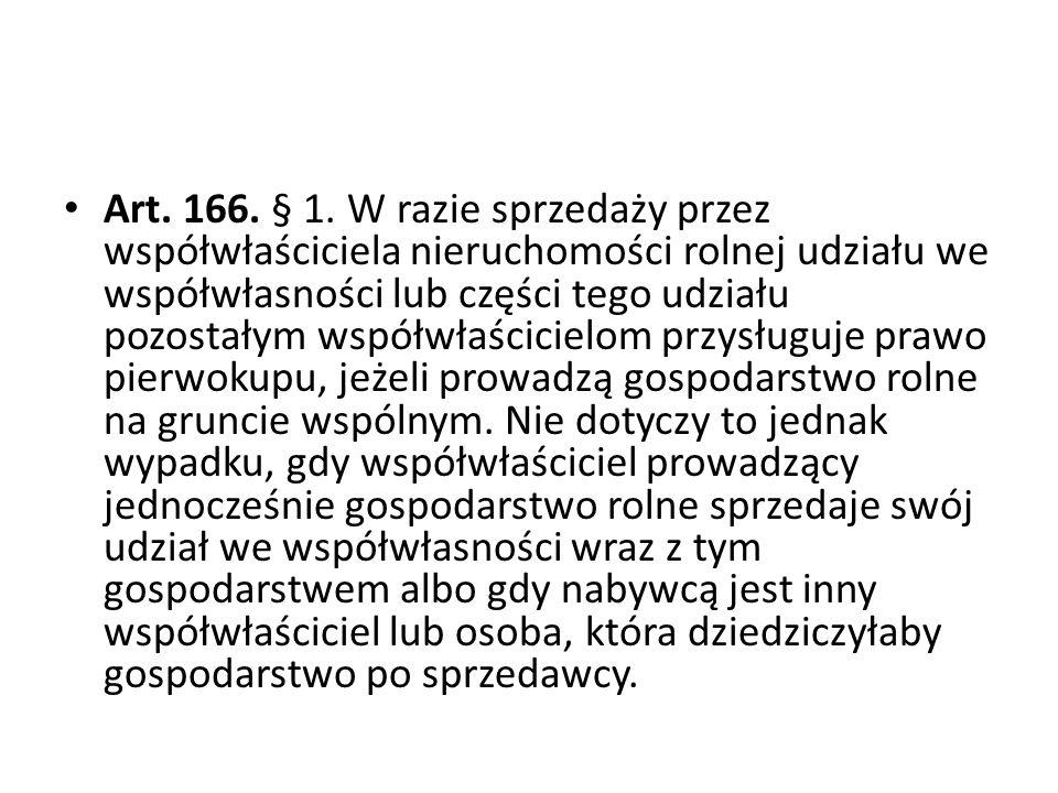 Art.166. § 1.