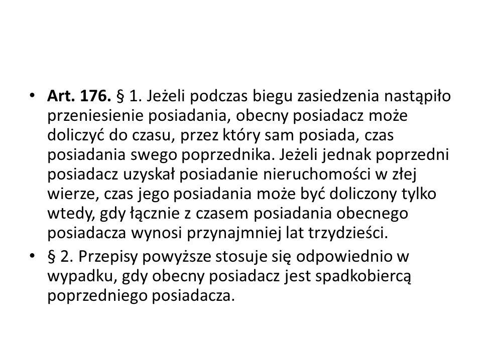 Art.176. § 1.