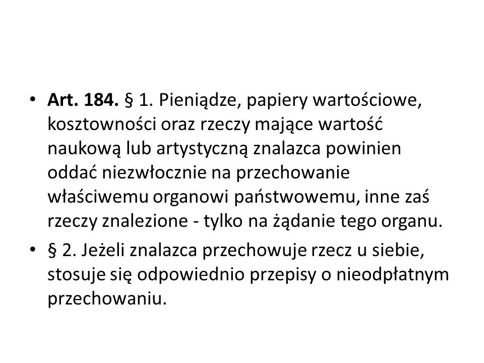 Art.184. § 1.