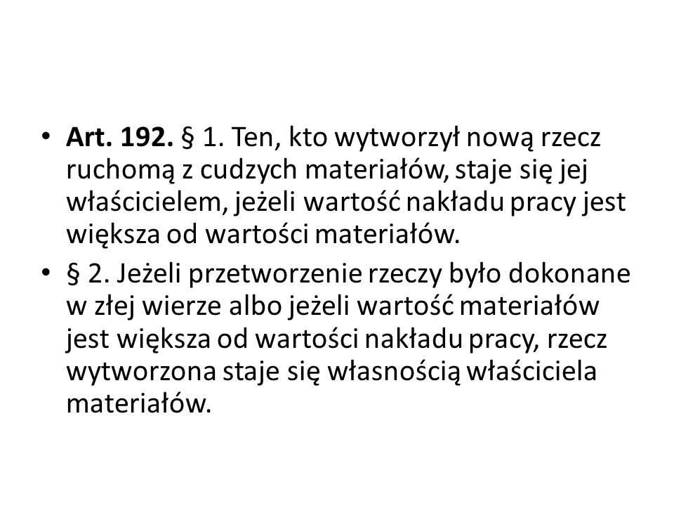 Art.192. § 1.