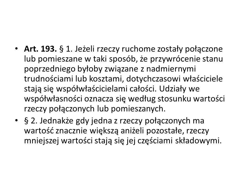 Art.193. § 1.