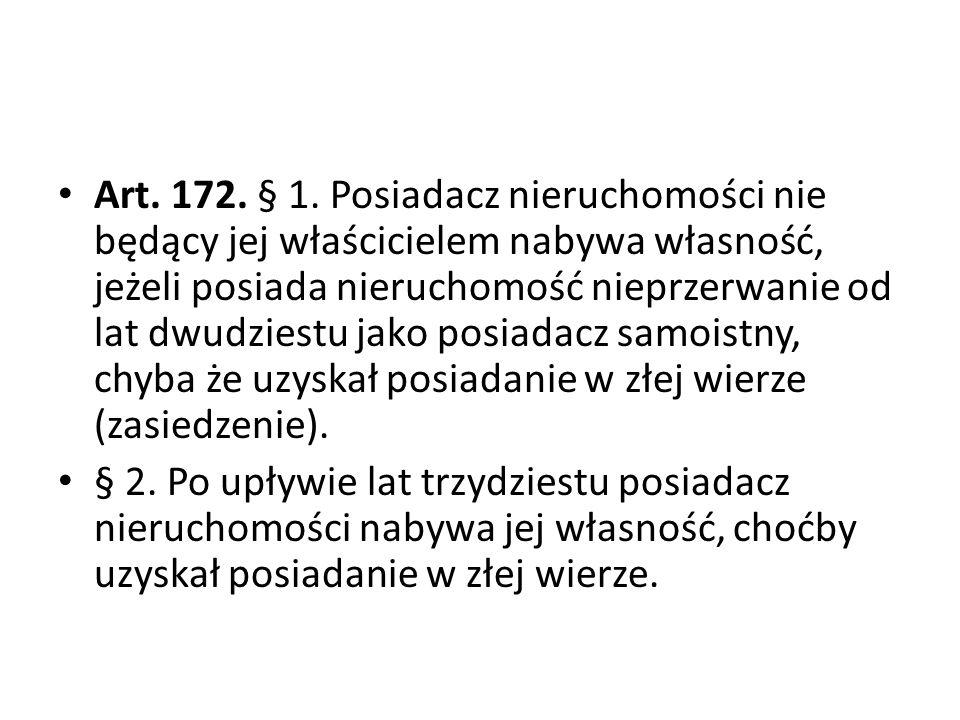 Art.172. § 1.