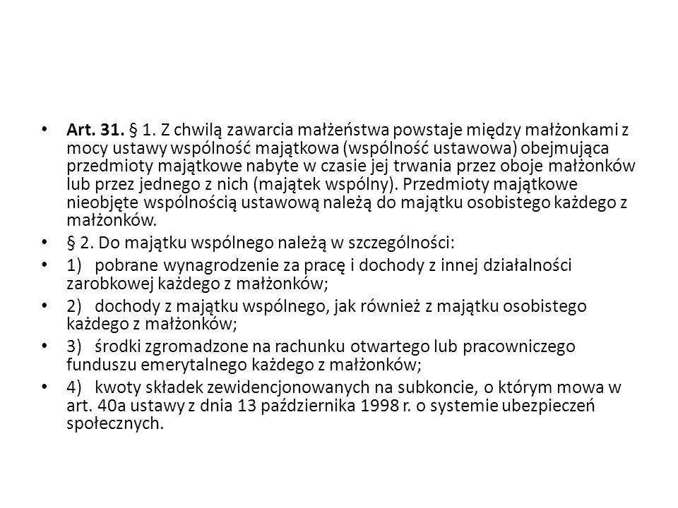 Art.31. § 1.