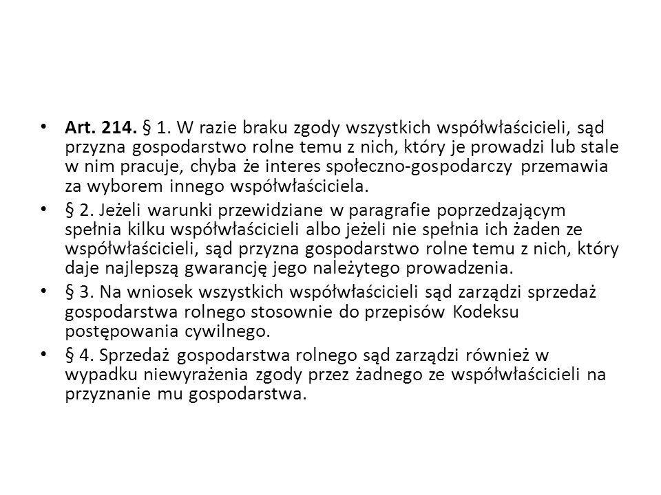 Art.214. § 1.