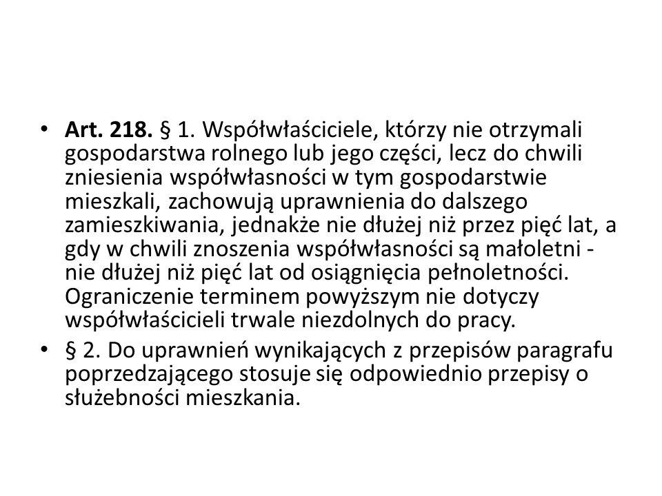 Art.218. § 1.