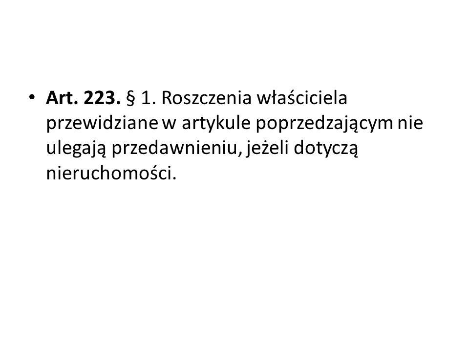 Art.223. § 1.