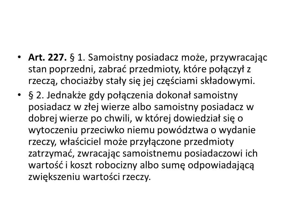 Art.227. § 1.